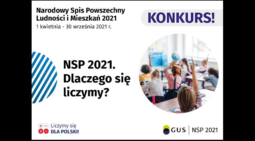 Konkurs dla uczniów w ramach Narodowego Spisu Powszechnego Ludności i Mieszkań 2021